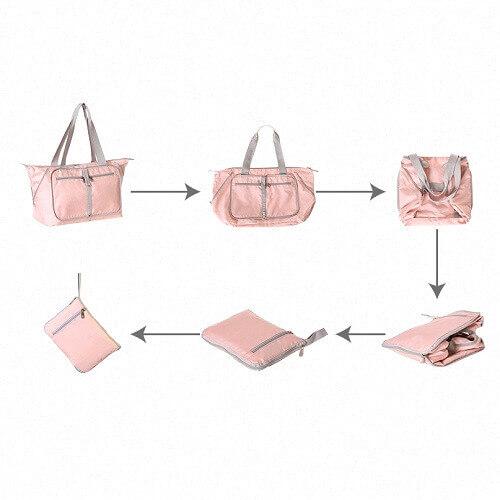 Singapore Foldable Luggage Bag - customizable company logo print