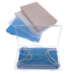 Lupe Face Masks Plastic Case Cover