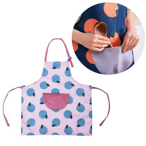 Gift with Purchase idea Apron with custom logo print Singapore 1
