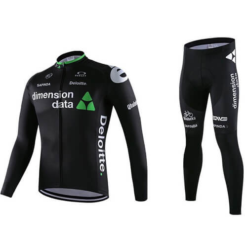 Long Sleeves Cycling Jersey Set Main Feature 1