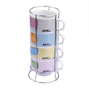 4 coffee cup set1 Gift with purchase singapore supplier