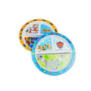 Custom print Melamine Split Plate