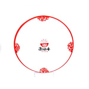 Custom print Melamine plate Singapore supplier