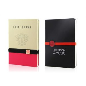 singapore Custom-Print-Notebook-With-Metallic-Logo