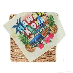Customized Print Cotton Hand Towel