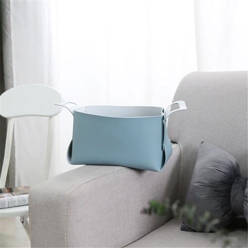 PU-Leather-Storage-Basket singapore