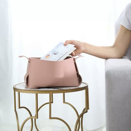 PU leather product customisation singapore discount