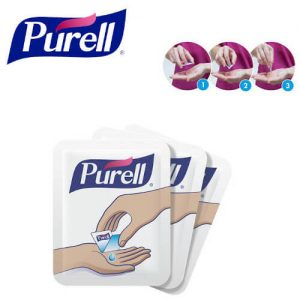 Purell Advanced Single Use Hand Sanitiser Singapore Wholesaler