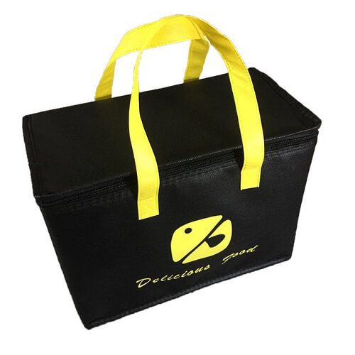 Custom Logo Print Insulated Cooler Bag Singapore wholesaler