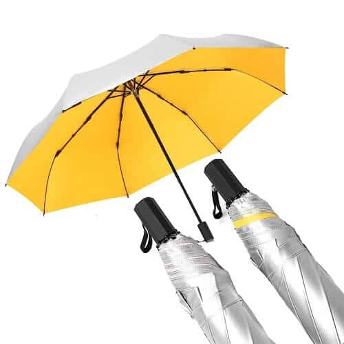 Singapore customised corporate umbrella with company logo print