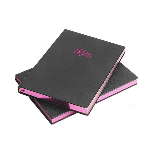 custom leather notebook singapore supplier