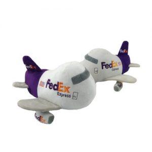 Customised aircraft soft toy singapore