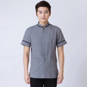 Singapore Short-Sleeved Hotel Clothes Uniform