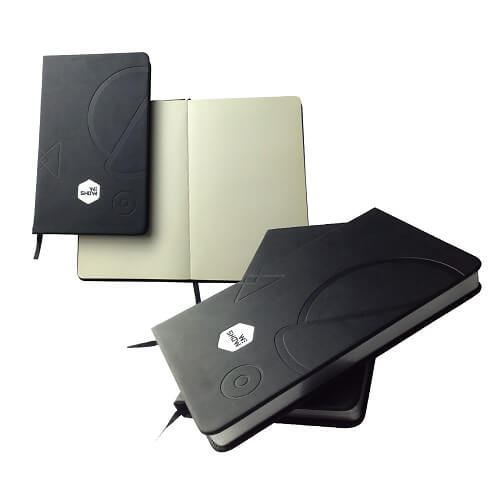 Customised moleskin journal notebook