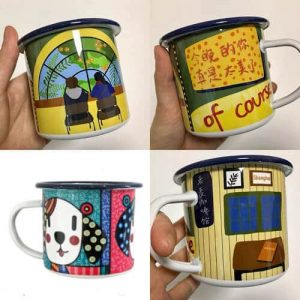 Custom Enamel Mug