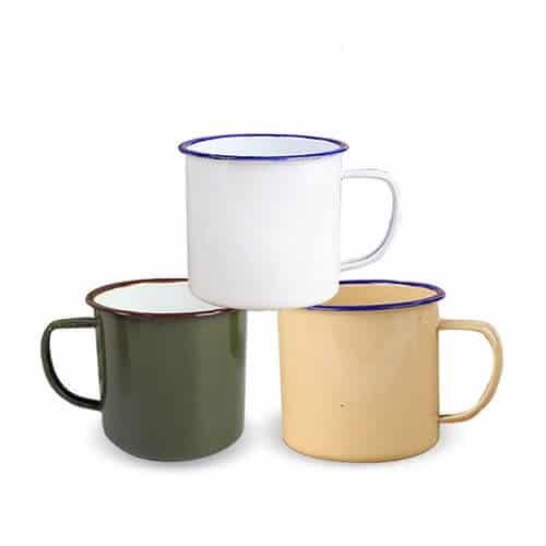 Custom Printed Enamel Cup