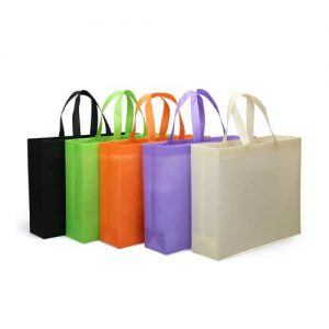 Fadi Non-Woven Horizontal Tote Bag