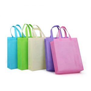 Fallyn Non-Woven Vertical Tote Bag
