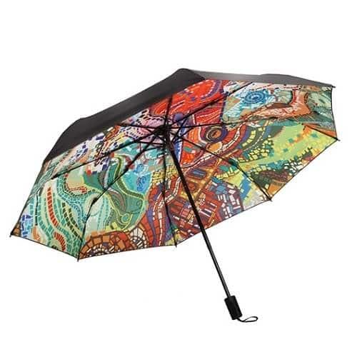 Custom interior print umbrella