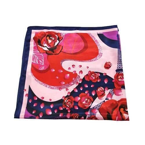 Custom Printed Silk Scarf Singapore