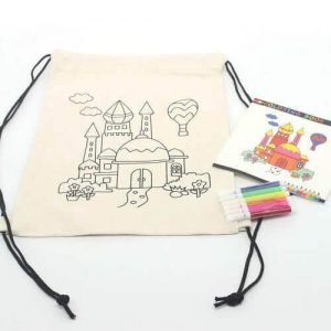 Activity tote bag drawing singapore