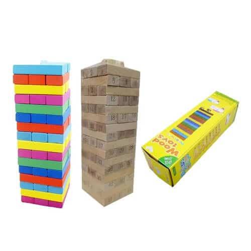 custom jenga game set