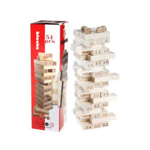 Jenga block game