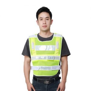 Pepper Safety Vest With LED