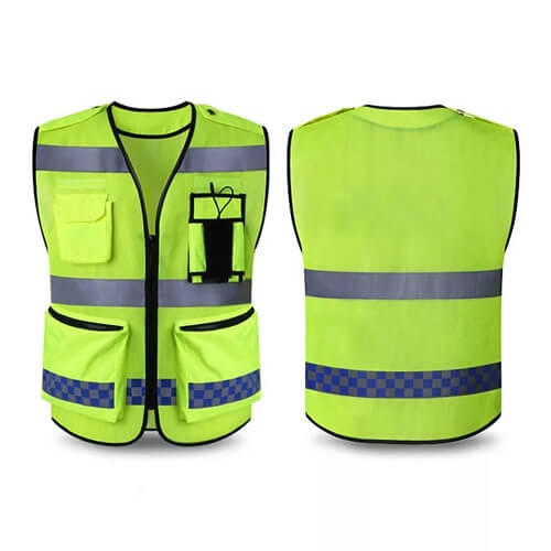 corporate safety vest printing