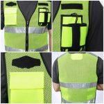 custom safety vest printing