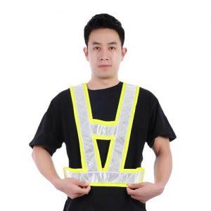 printed safety vest