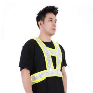 Pio V-shaped Reflective Safety Vest