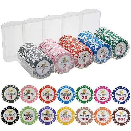 Corporate Poker Chips