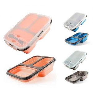 Dwain Custom Foldable Silicone Lunch Box