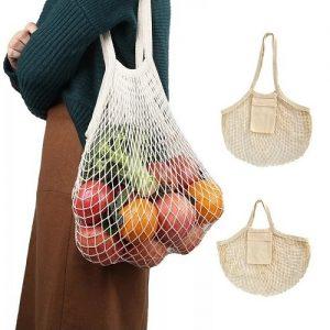 Geena Netting Grocery Bag