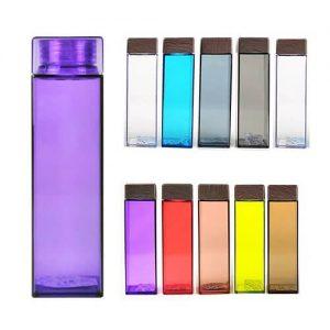 Gabino Square Transparent Water Bottle