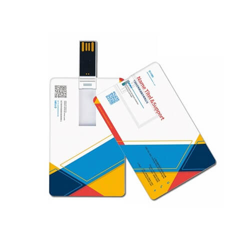 Custom Logo Print USB Card Flash Drive