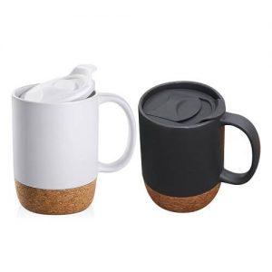 Ansem Ceramic Mug With Cork Base
