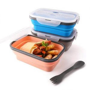 Dustin Foldable Lunch Box With Cutlery