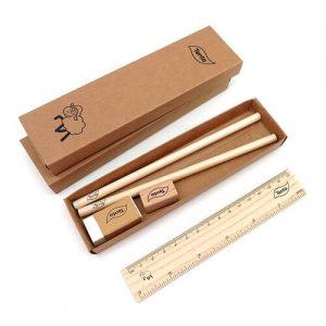 Sezim Eco-Friendly Pencil Case Set