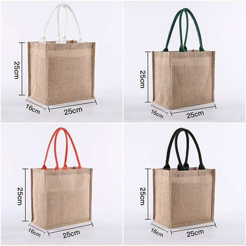 Customized Jute Bag Printing
